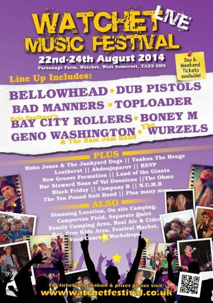 Watchet Festival @ Watchet Festival | Watchet | United Kingdom